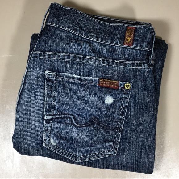 7 For All Mankind Jeans 7 For All Mankind Jeans Seven Slouchy 26 X 32 Poshmark